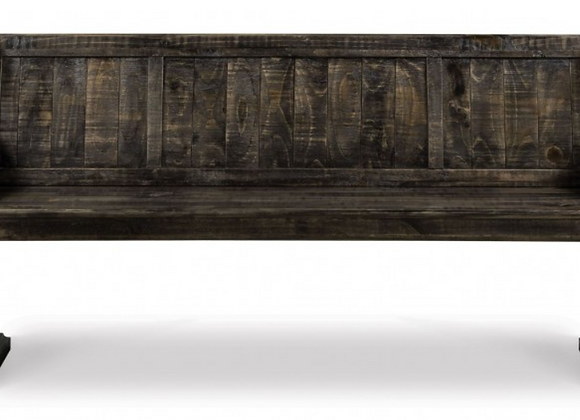Bellamy Wood Bench (Peppercorn)