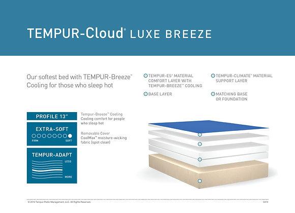 Temp Cloud Luxe Breeze Mattress Cutaway
