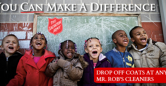 Keep Kids Warm--Donate to the Coats for Kids Drive