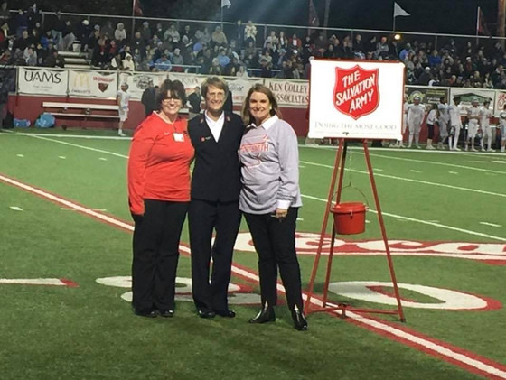 The Salvation Army Kicks Off Christmas Season at HS Football Game