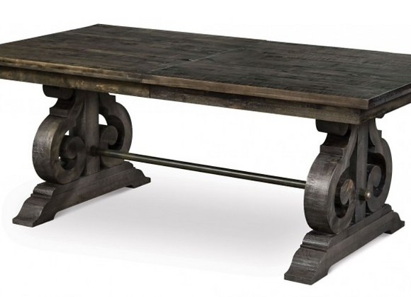 Bellamy Wood Table (Peppercorn)