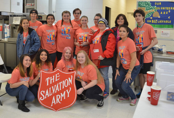 Volunteers Provide a Fresh Facelift to Salvation Army