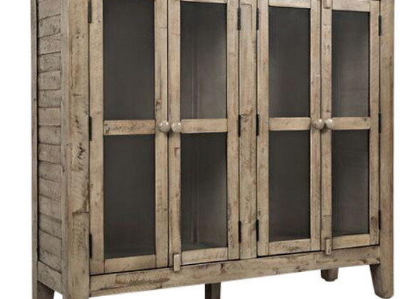 Rustic Shores Accent Cabinet (Weathered Grey) 48""