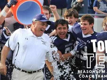 Top 10 Reasons I Am a Better Coach Than Parent