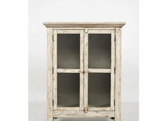 "Rustic Shores Accent Cabinet (Vintage White) 32"""
