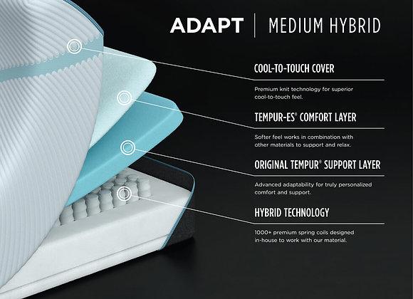 Temp Pro-Adapt Medium Mattress Cutaway