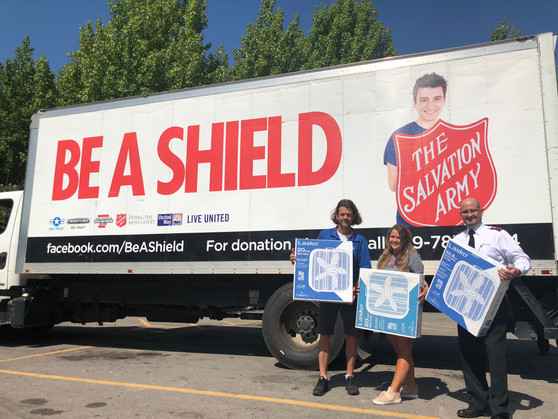 Record Fan Drive Brings Relief for River Valley Residents