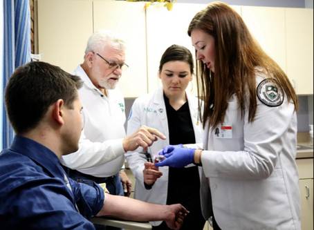 Fort Smith medical students help out at Good Samaritan Clinic