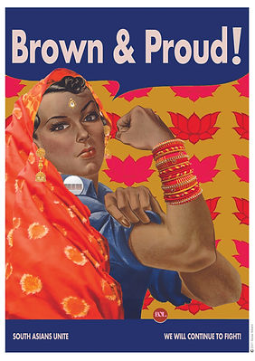 Brown and Proud Poster CMYK A2.jpg