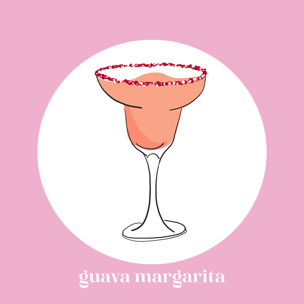 guava margarita, alcohol, quanrantini, cocktails, whiskey, gin, old monk, recipes, tequila, margarita, south asian, desi cocktail, relax, lifestyle blogger, south asian blogger, desi influencer