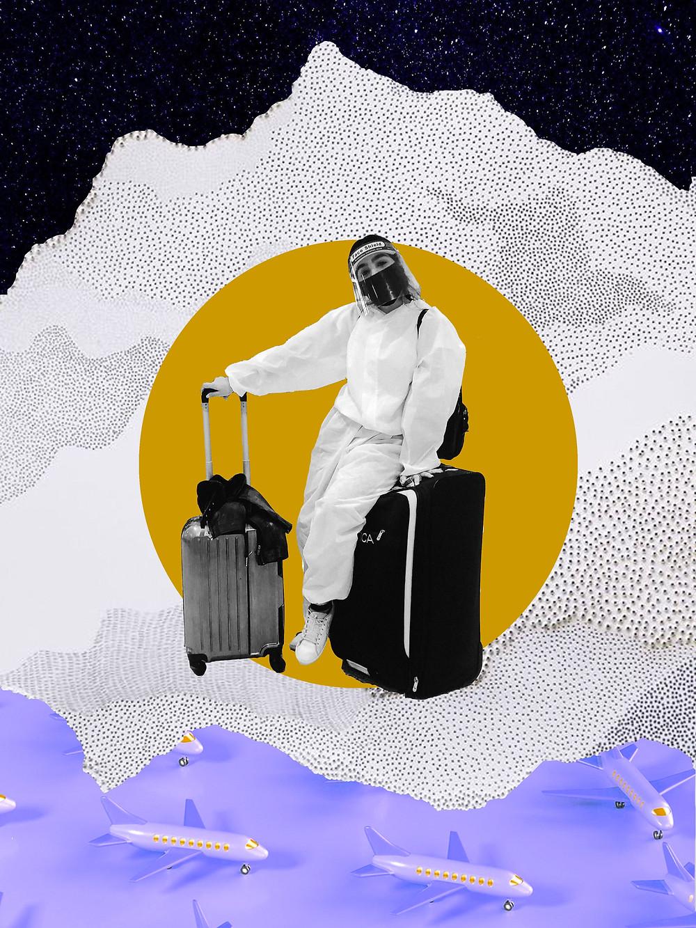 Hazmat Suit- Michelin Man- Corona- Beauty- Blogger-South Asian