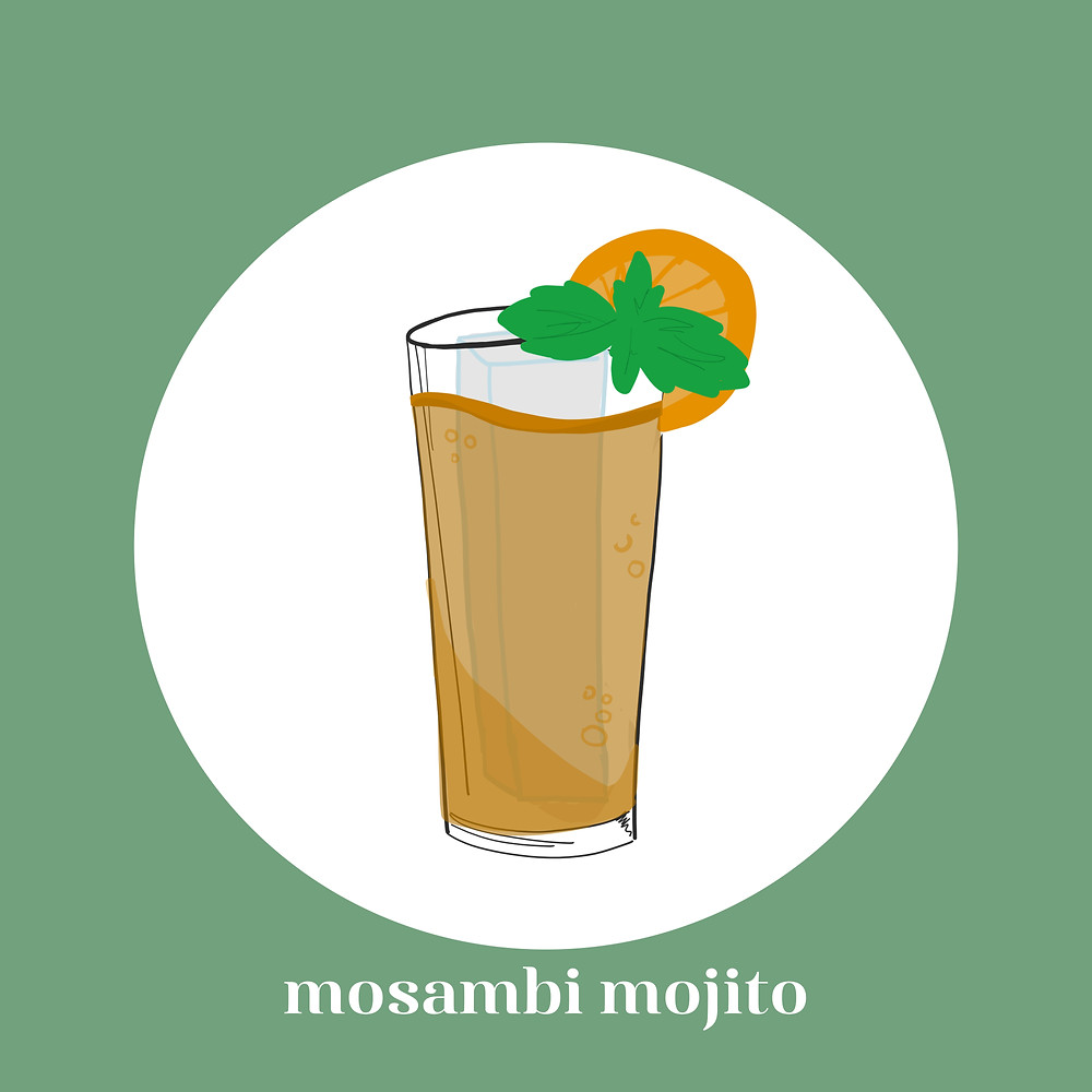 mosambi mojito, alcohol, quanrantini, cocktails, whiskey, gin, old monk, recipes, tequila, margarita, south asian, desi cocktail, relax, lifestyle blogger, south asian blogger, desi influencer