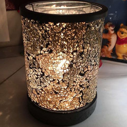 Gold Crush Lampshade Warmer Nissa
