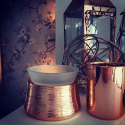 Etched Copper Warmer Nissa Rinaldi