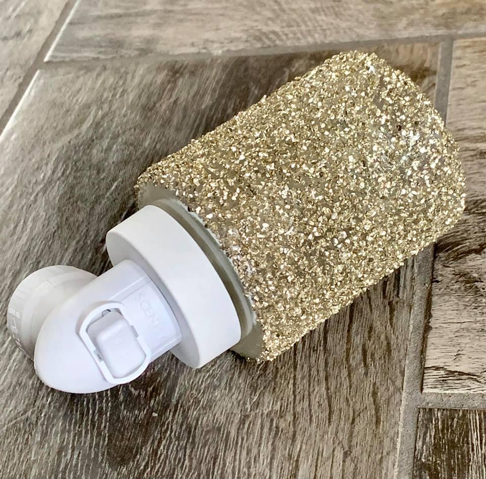 Glitter Gold Mini Warmer Nissa