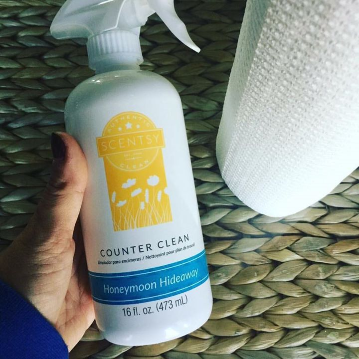 Honeymoon Hideaway Counter Clean
