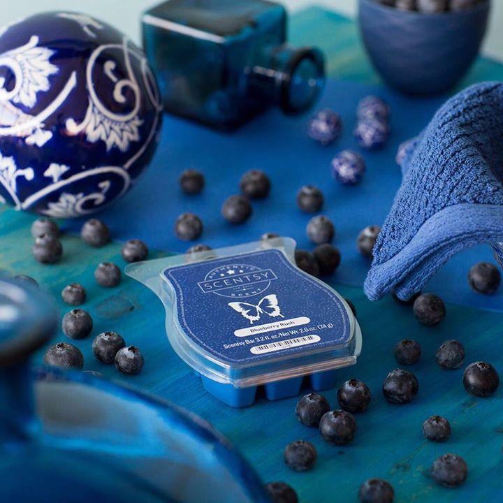 Blueberry Rush Scentsy Wax Bar