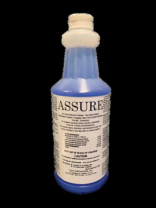 Assure - Disinfectant Spray, 32oz, CS/12. EPA Approved for COVID-19/Coronavirus
