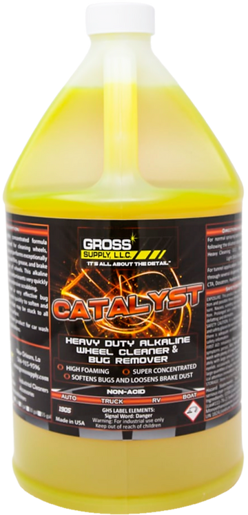 Catalyst - Non-acid wheel cleaner & bug remover
