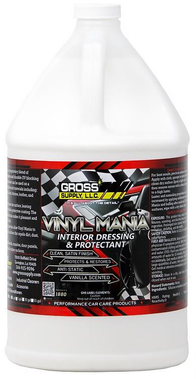 Vinyl Mania - Interior Dressing & Protectant