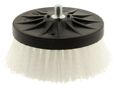 Rotary carpet brush, 3.5""