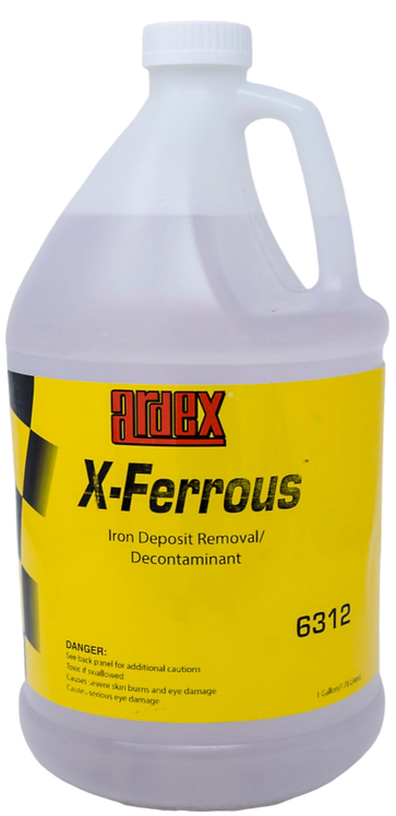 Ardex Xferrous - Iron decontamination