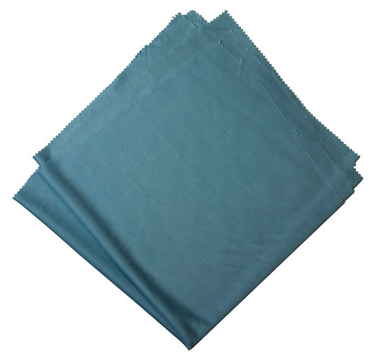 "ULTRA FINE GLASS MICROFIBER CLOTH- 20""X20"" BLUE"