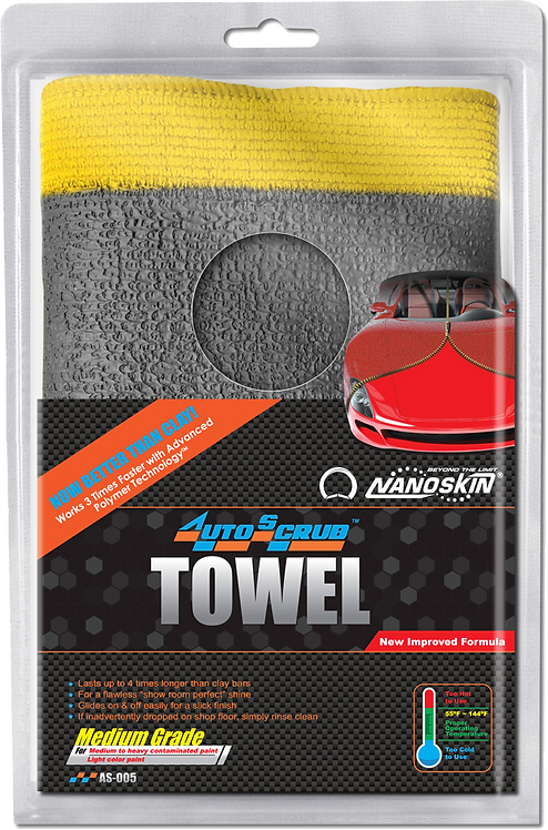 "Nanoskin AUTOSCRUB 12"" x 12"" Medium Grade Towel"
