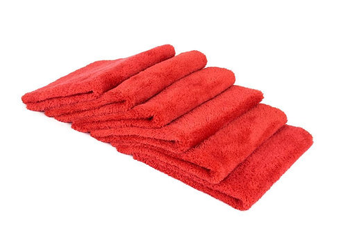 "Korean Plush Edgeless detailing towels, (16""x16"") 10pk"