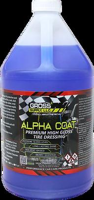 Alpha Coat - Solvent Tire Dressing