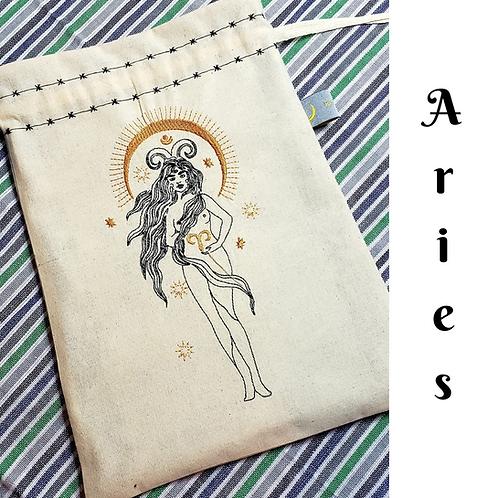 Aries Drawstring Bag