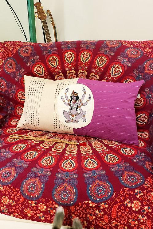 Goddess Kali Cushion Cover