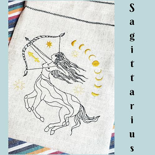 Sagittarius Drawstring Bag