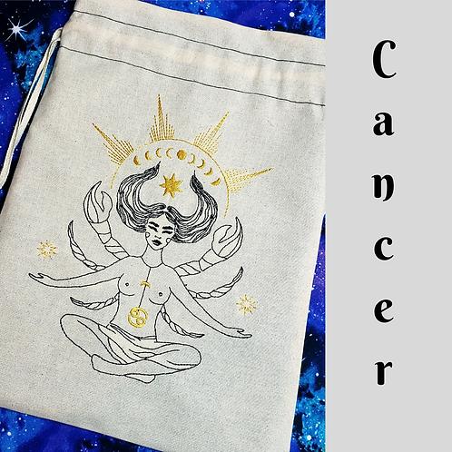 Cancer Drawstring Bag
