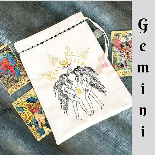 Gemini Drawstring Bag