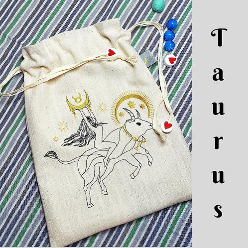 Taurus Drawstring Bag