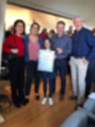 Jan Spooren en Lut Kint bij de Verkiezing van de Beste Brabantse Wijn. Domein Pot de Vin