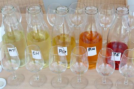 Wijnen assembleren
