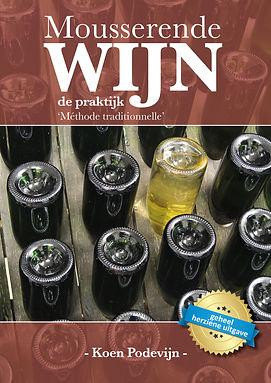Cover vanhet nieuwe boek Mousserende Wijn