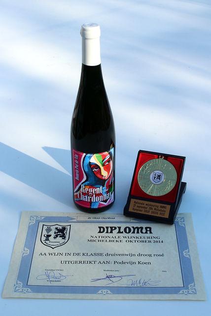 Beste Belgische Wijn 2014 Kampioen VAW