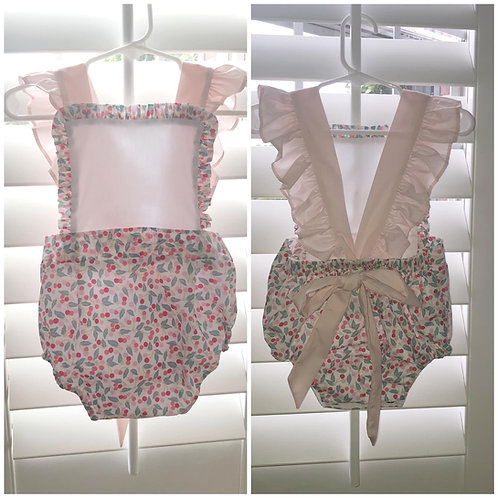 *LIMITED* Liberty of London Cherries Sunsuit