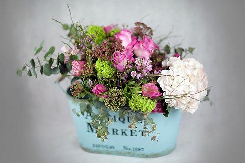Base Vintage y Flores de Temporada