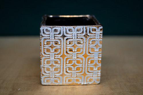 Base cerámica dorada