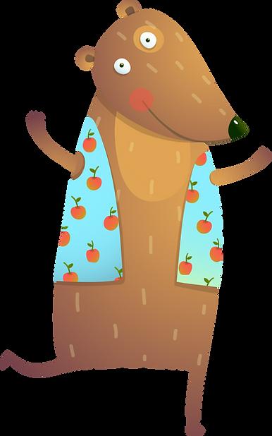 Karikatur-Bär