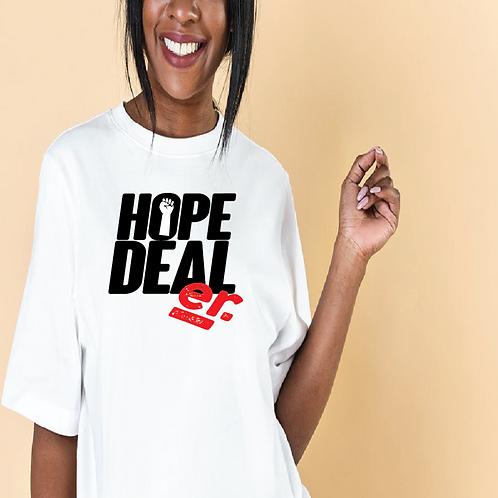 White BLM HOPE Dealer
