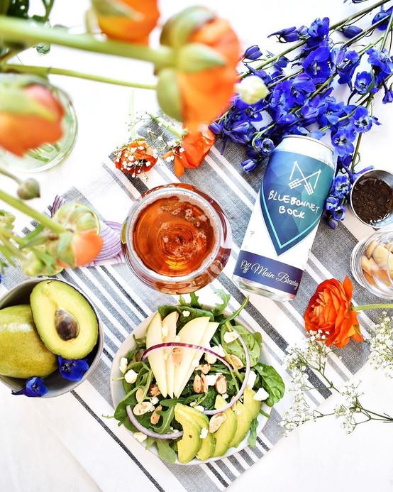 Off Main Brewing Bluebonnet Bock Lunch.j