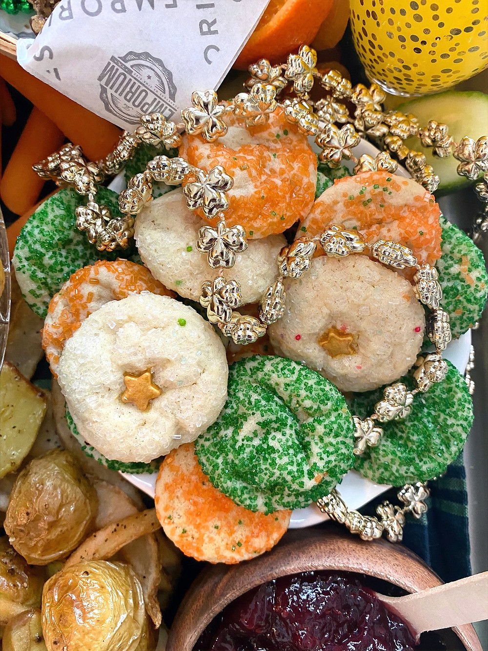 off main brewing | saint patrick's day | irish sugar cookies