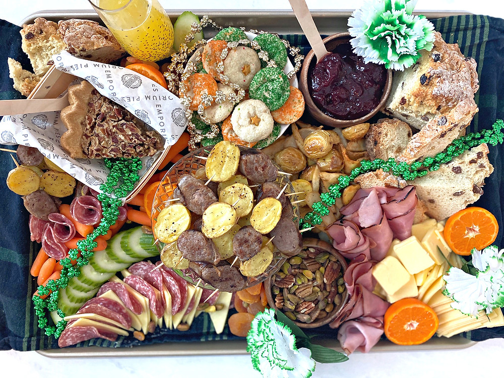 off main brewing | saint patrick's day party platter