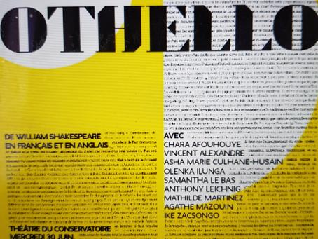 30/06 Othello - Shakespeare par Patrick Rameau
