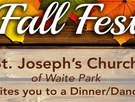 St. Joseph's Fall Fest October 29, 2021